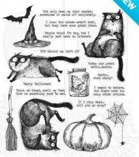 SNARKY CAT HALLOWEEN