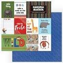A Walk On The Wild Side Double-Sided Cardstock 12X12-Wild Thing