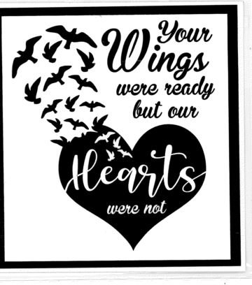 YOUR WINGS WERE READY