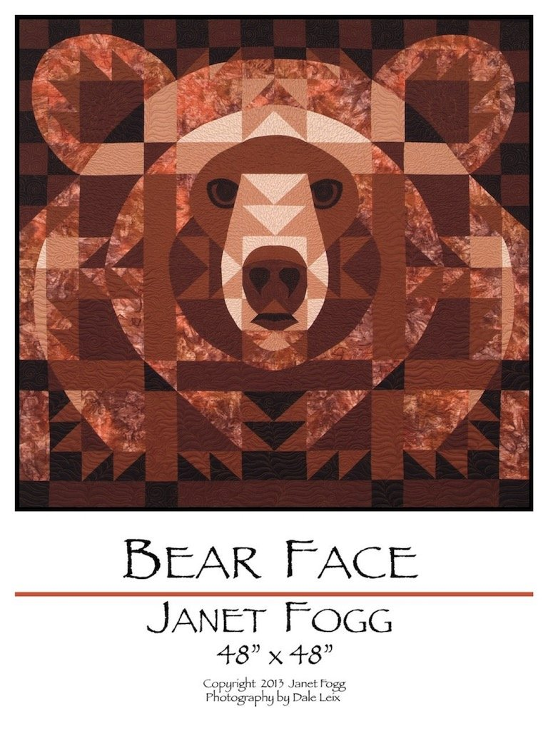 Bear Face Pattern