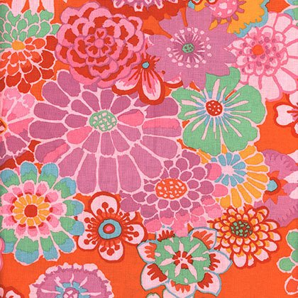 Kaffe Fassett - Asian Circles - Tomato