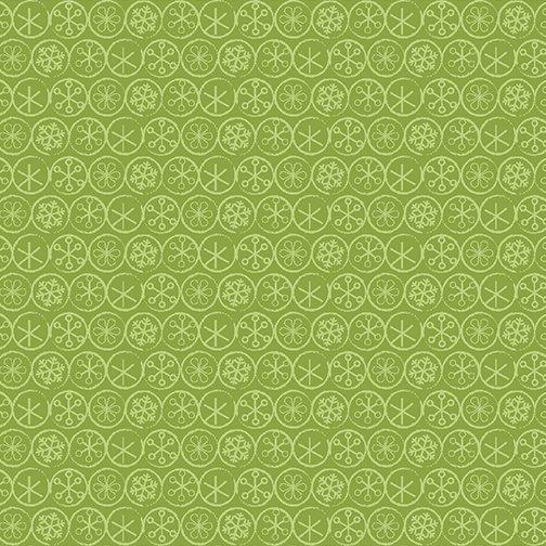 Heart & Home Flake Dot Green