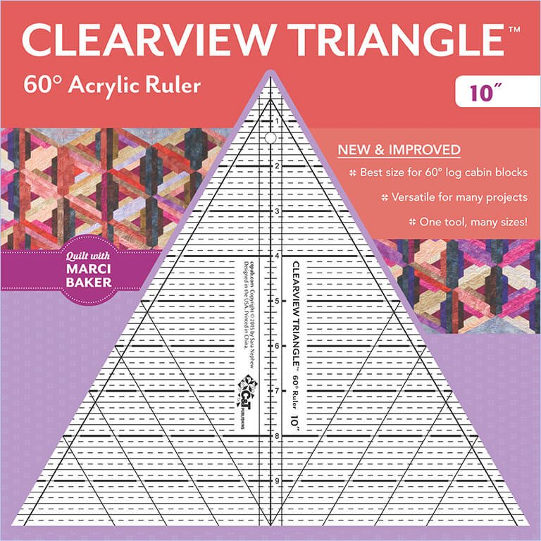 Clearview Triangle - 60 Degree - 10 inch