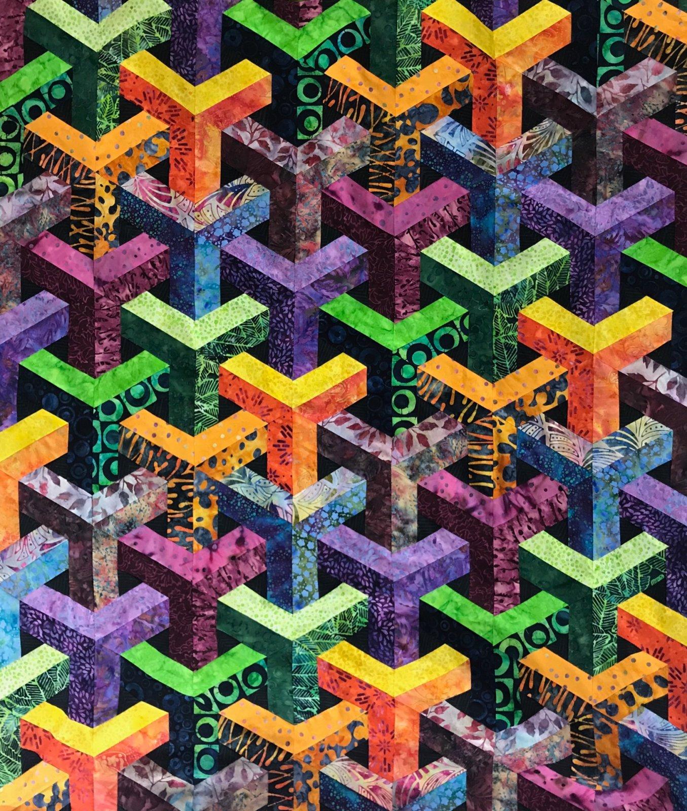 Escher - Batik 57x62