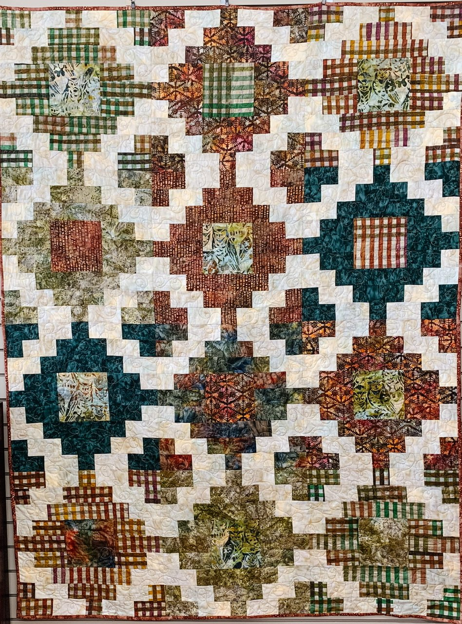 Stacked Quilt Kit 72x72