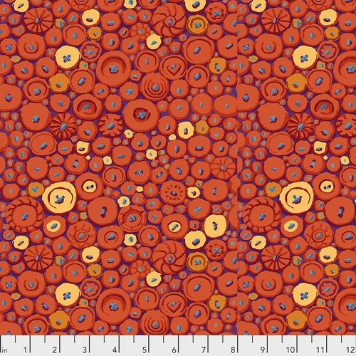 Kaffe Fassett - Button Mosaic - Orange