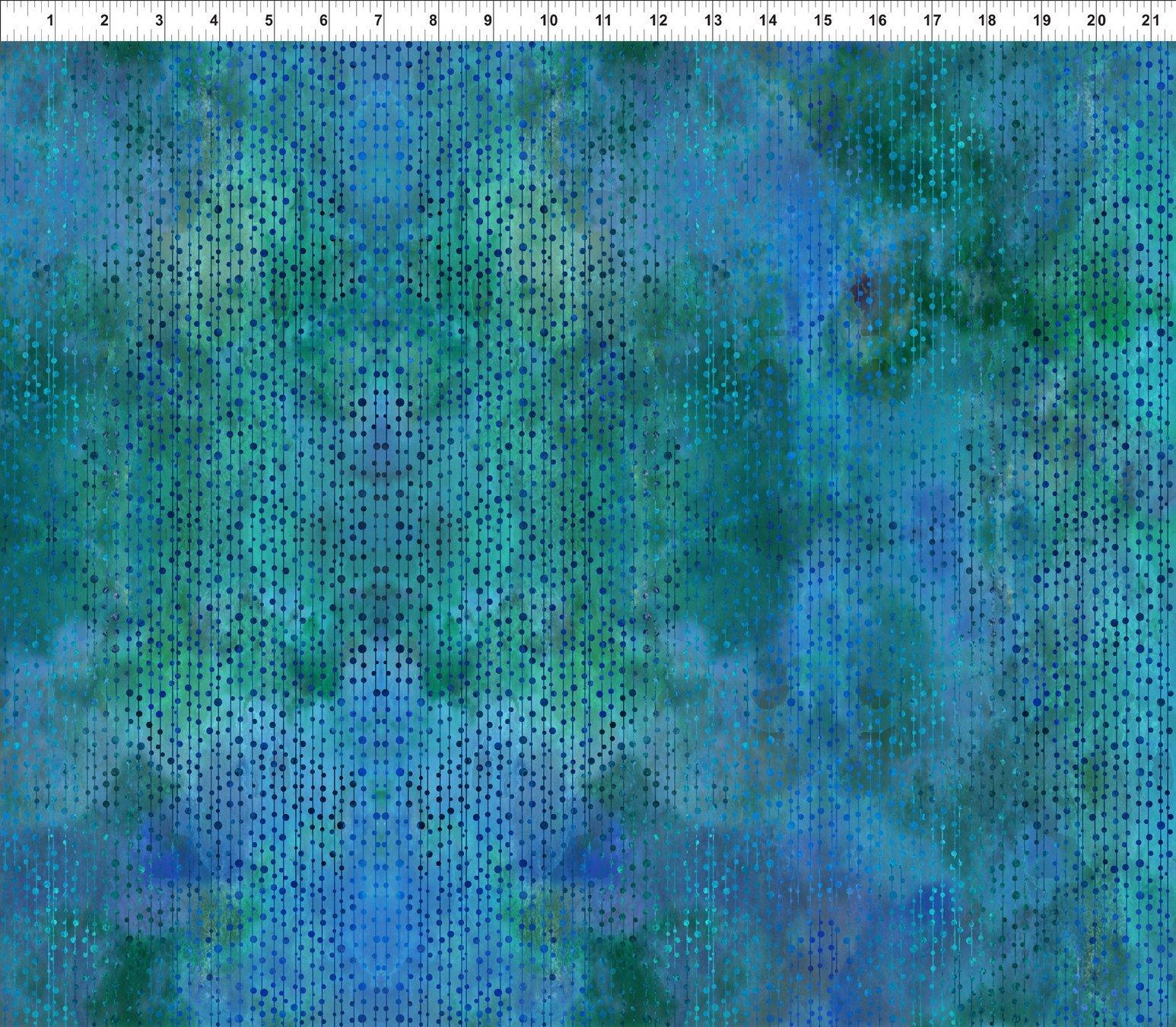 Garden of Dreams Beads Bluegreen