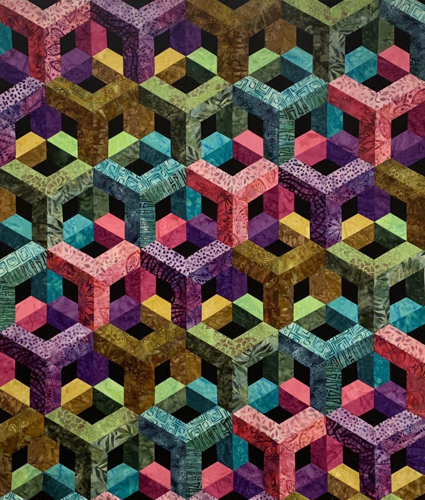 Escher II Batik Full 82x90