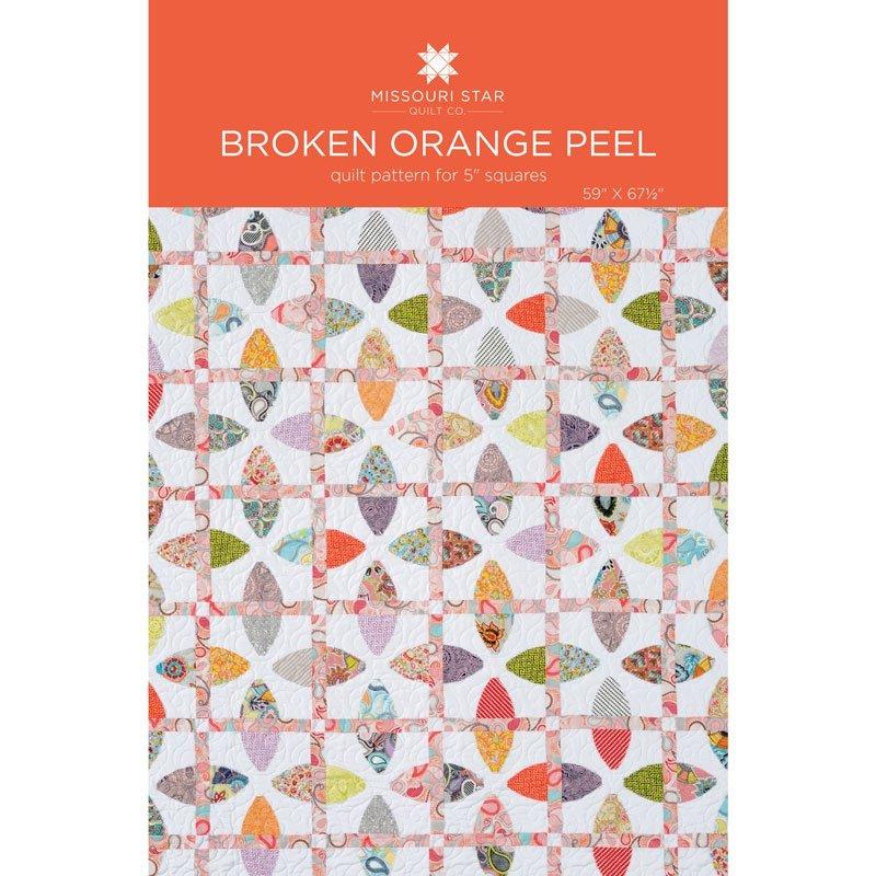 Broken Orange Peel Quilt Pattern