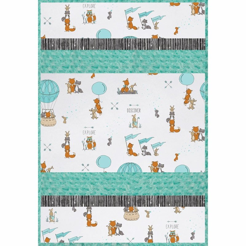 Be Brave Cuddle Kit 29x41 (includes pattern & binding)