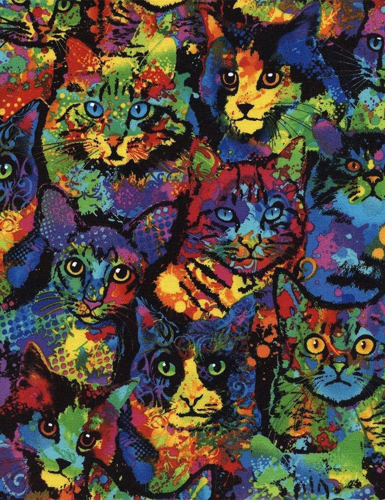 Paint Splatter Cats
