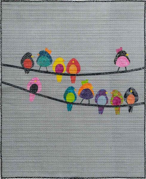 Birds On a Wire 35x42