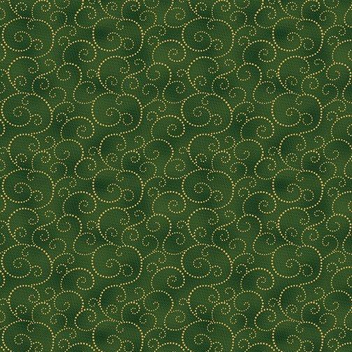 Charm Holiday Scroll Emerald