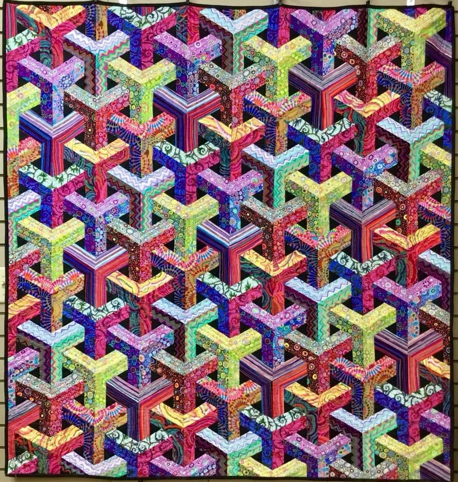 Escher - Kaffe - Queen Size 91x96