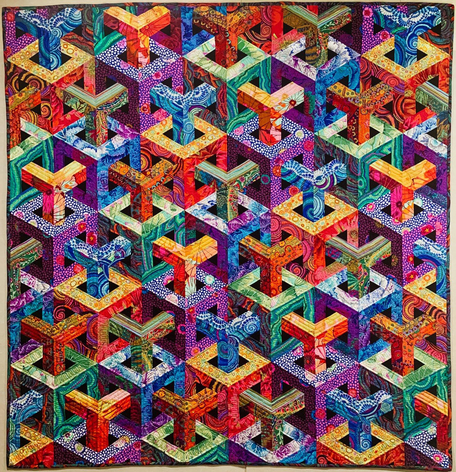 Escher Cubed - Kaffe