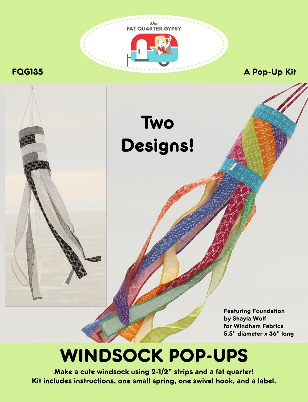 Windsock Pop-Ups