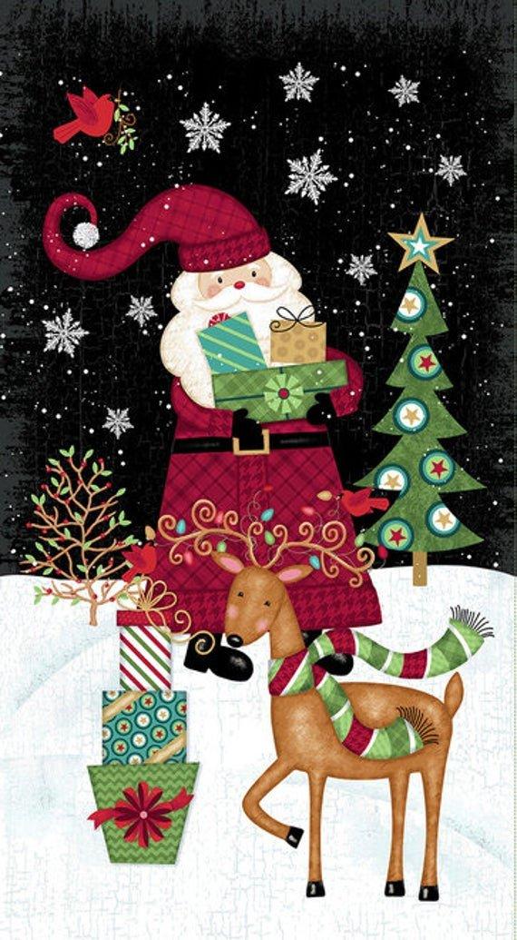Holly Jolly Christmas Panel