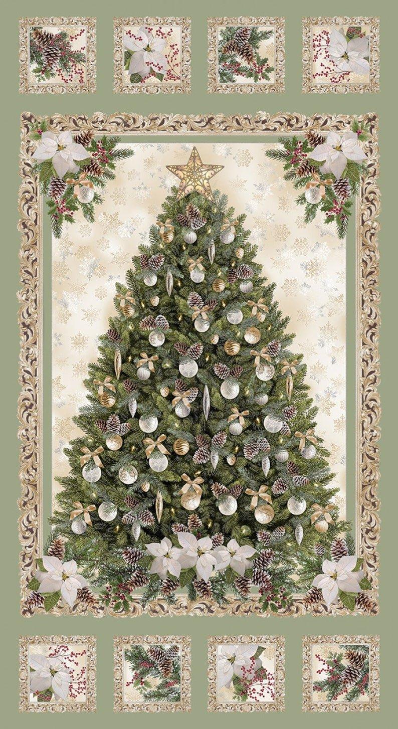 Holiday Tree Panel