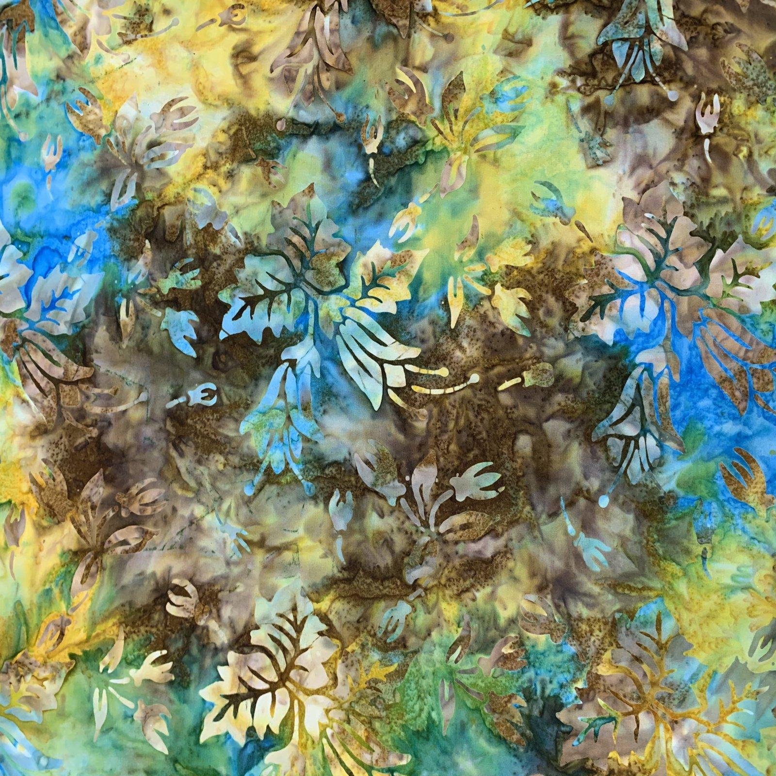 Benartex Shangrila Balis - Turquoise Multi
