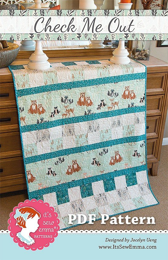 Check Me Out Quilt 40x58