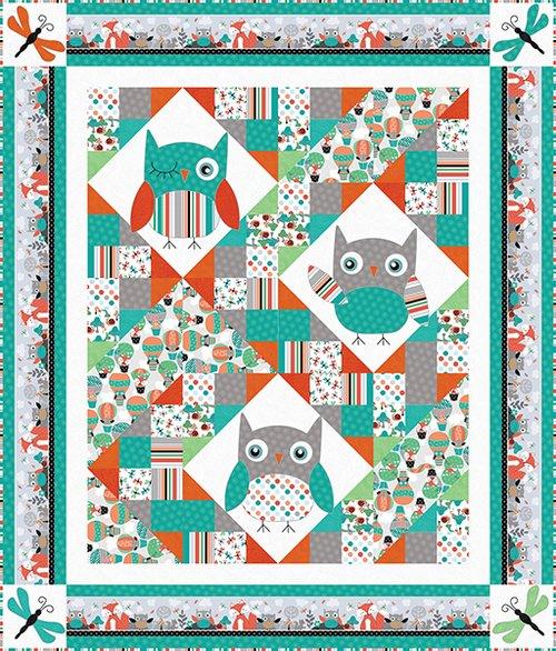 Owl's Woodland Adventure Kit  52x61