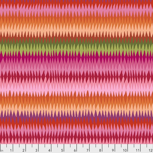 Kaffe Fassett - Diamond Stripe - Pink