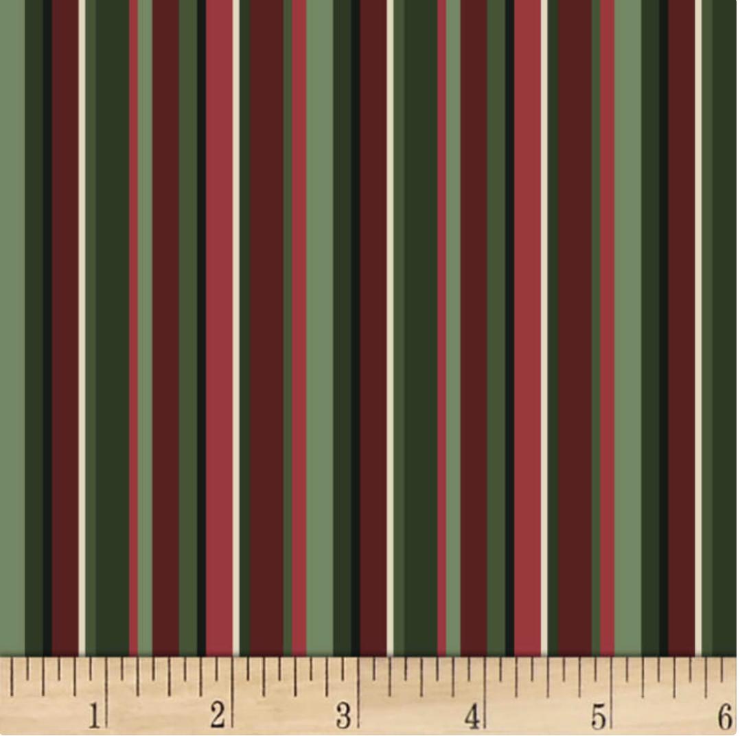 Christmas Bird Song Stripe