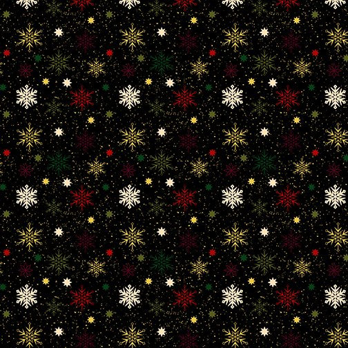 Charm Holiday Snowflake Black