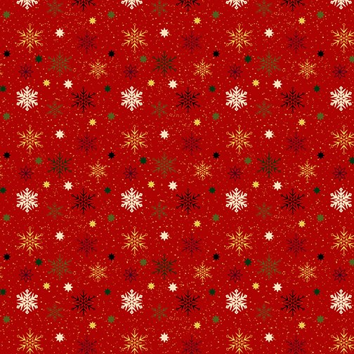 Charm Holiday Snowflake Red