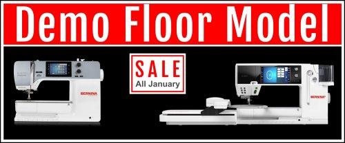 demo floor sew