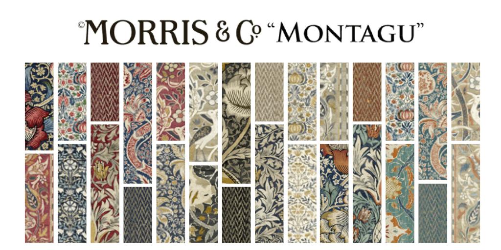 Morris & Co. Montagu FQ Bundle