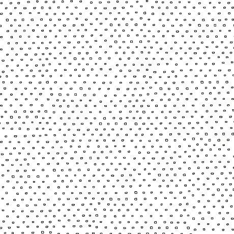 Square Dot Blender White