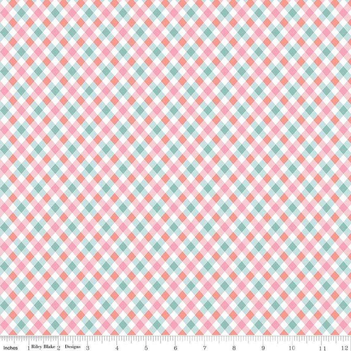 Perfect Party Plaid Pink