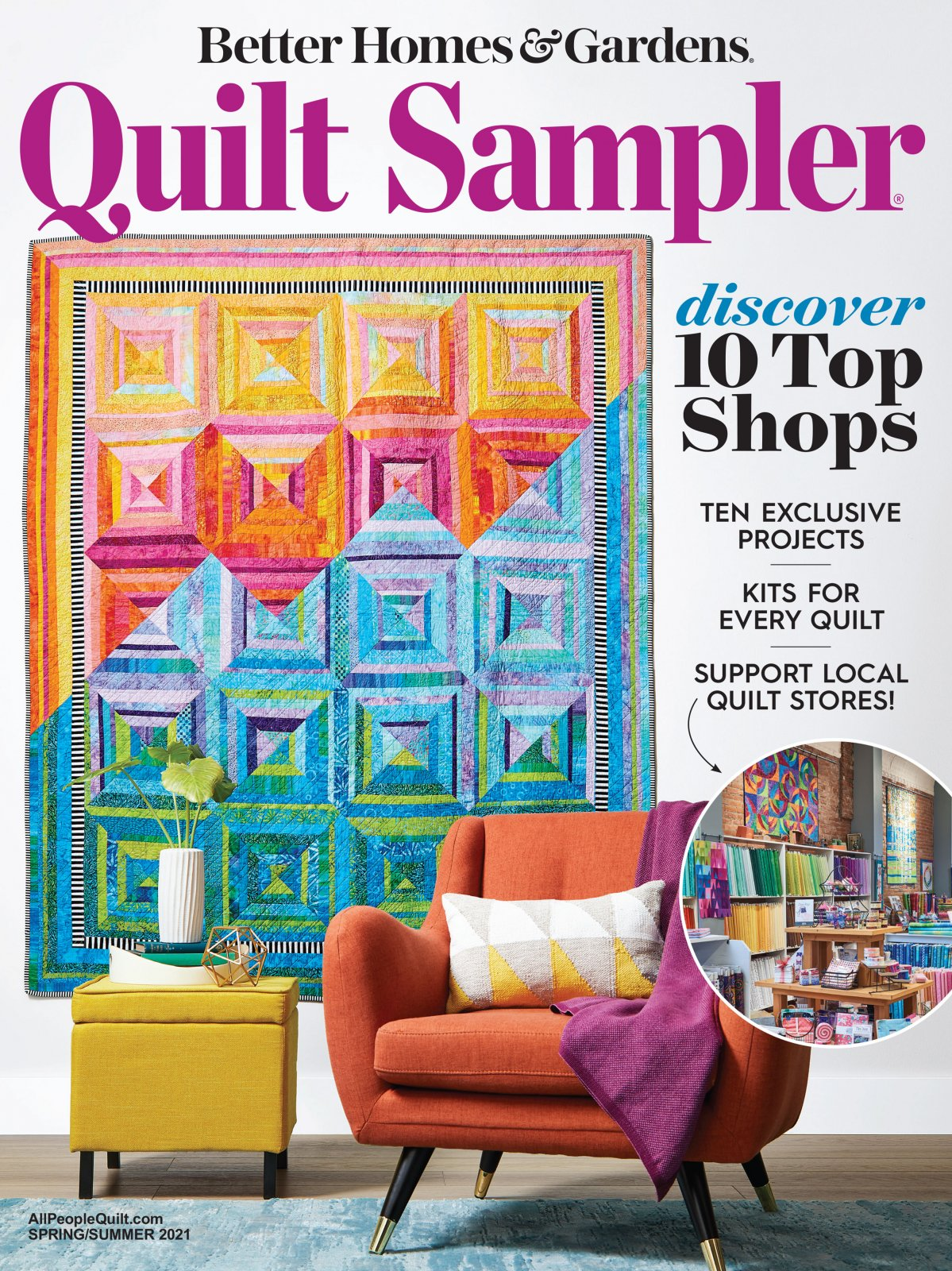 Quilt Sampler Magazine Spring/Summer 2021