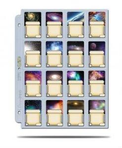 16 Pocket Card Protector Sheet