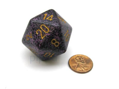 Hurricane 34mm d20 Speckled