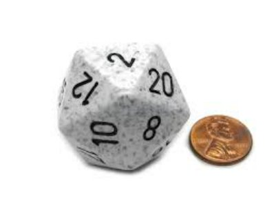 Arctic Camo 34mm d20 Speckled