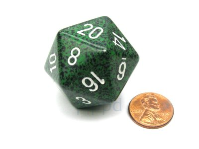 Recon 34mm d20 Speckled