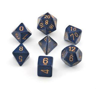 7 Die Speck: Golden Cobalt