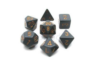 7 Die Opaq: Dark Grey/Copper