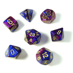7 Die Gemi: Blue-Purple/Gld