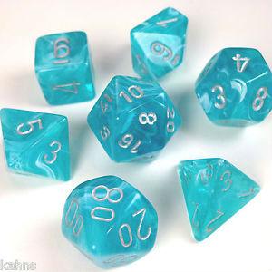 7 Die Cirrus: Aqua/Silver