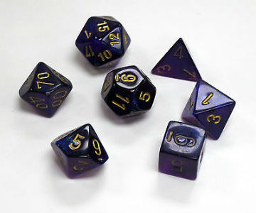 7 Die Boreal: Royal Purple/Gold