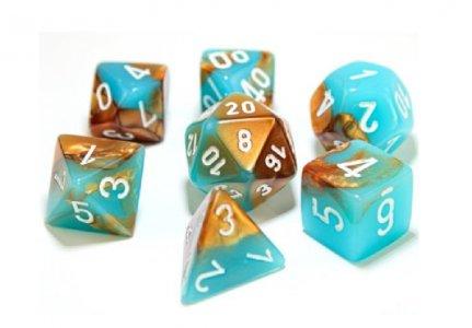 7 Die Gemi Luminary: Copper-Turqoise/White