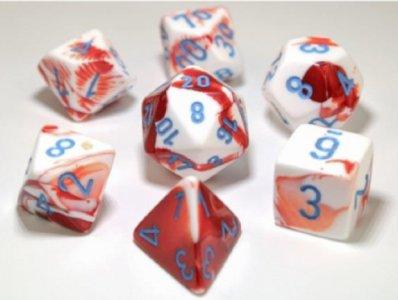 7 Die Gemi: Red-White/Blue