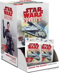 Star Wars Destiny: Across the Galaxy Booster Pack Display (36)