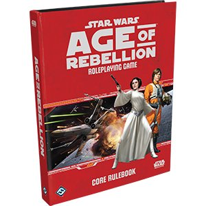 Star Wars RPG: Age of Rebellion - Core Book Hard Cover