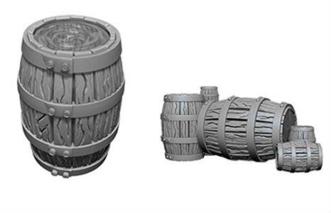 Deep Cuts Minis: Barrel & Pile of Barrels