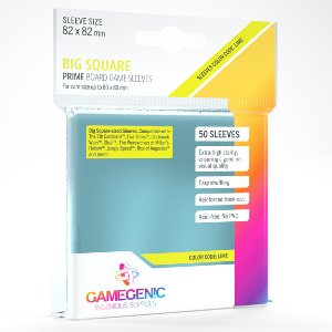 Big Square Prime Board Game Sleeves GameGenic