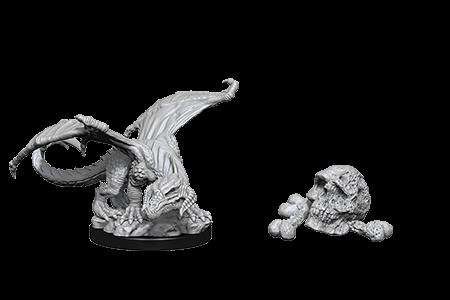 D&D Minis: Black Dragon Wyrmling